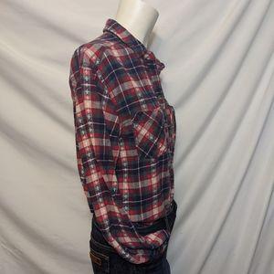 Bdg | flannel | UO | pattern | cozy | XS TP